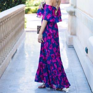 Donna Morgan Off the Shoulder Dress